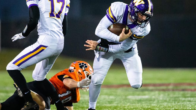 Williamsville High School quarterback Conor McCormick is The State Journal-Register's Small School Football Player of the Year.