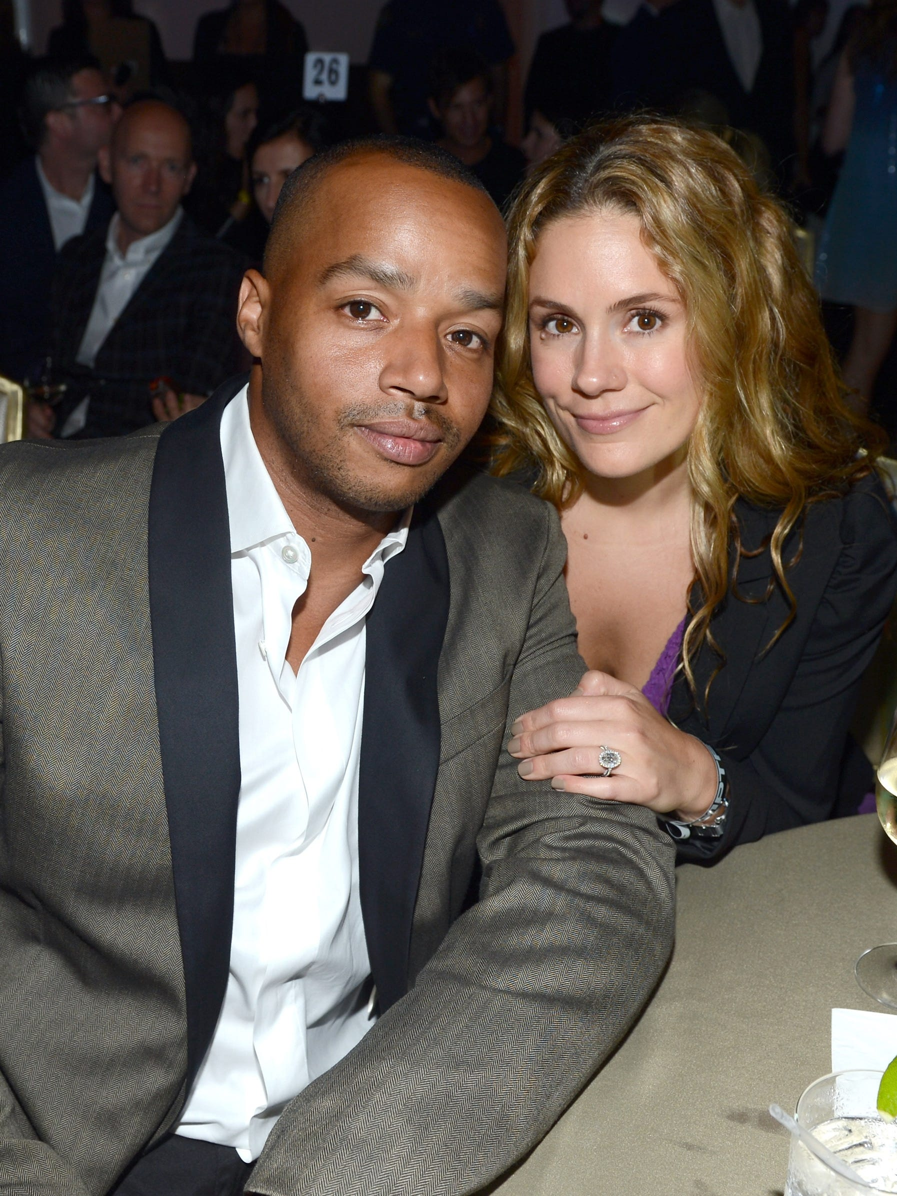 Donald faison dating cacee