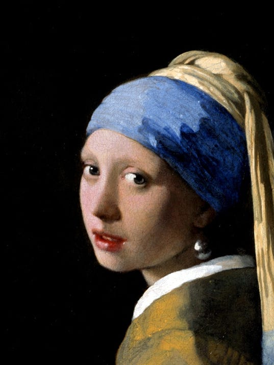 Girl with a pearl earring will be on exhibit at the de young museum