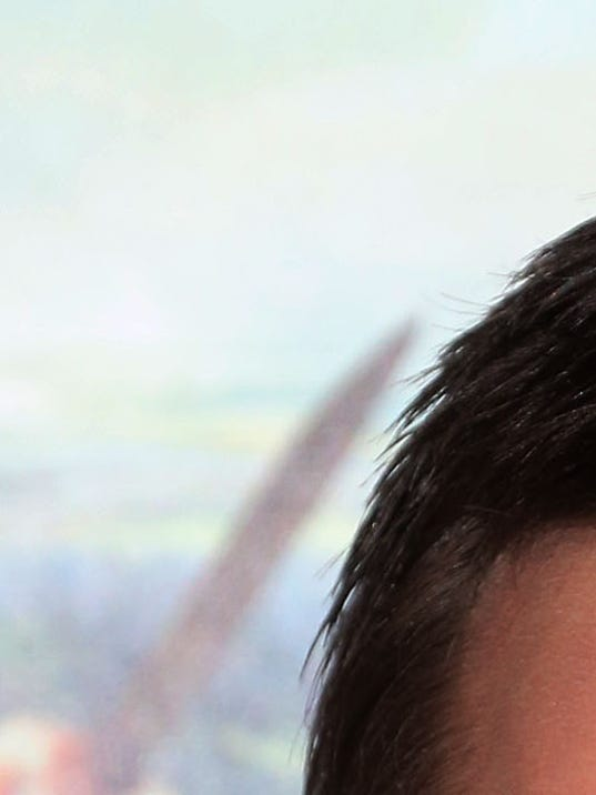 Nicholas Hoult at 'Jack' premiere