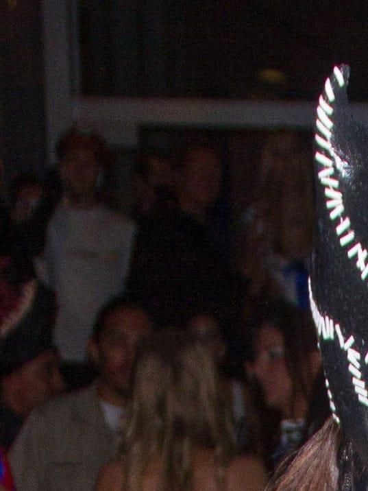 Costumed Kim Kardashian, Kanye West