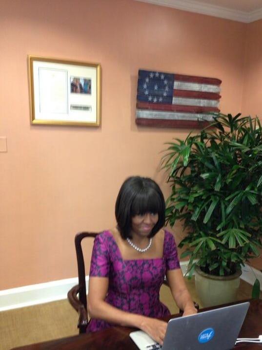 Michelle Obama on Twitter