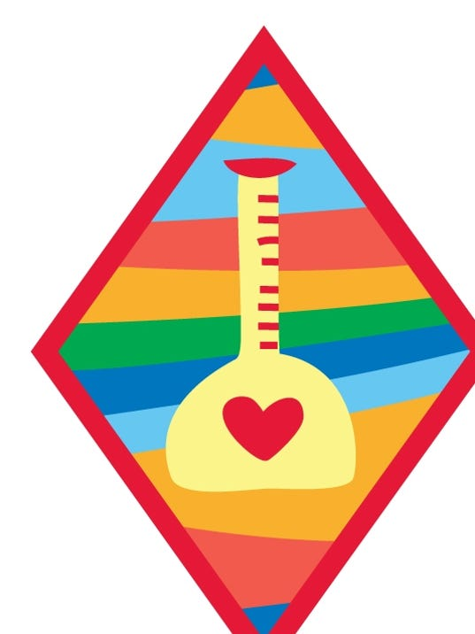 girl scout happiness badge
