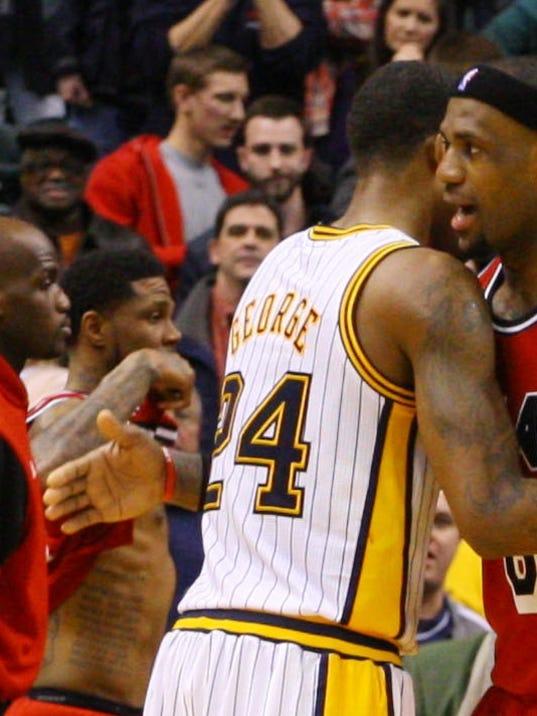 Paul George gets daunting task: Guarding LeBron James
