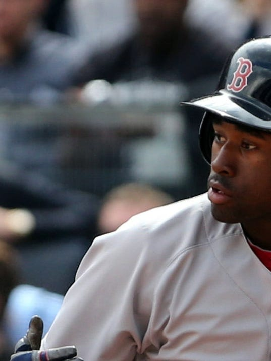 Rookie outfielder impresses in Red Sox win