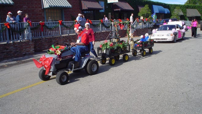 The Lawnmower Parade takes place every year at the Havana Winter Festival