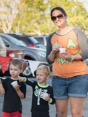 People attend Hope Lutheran Church's annual Harvest Festival in 2016.