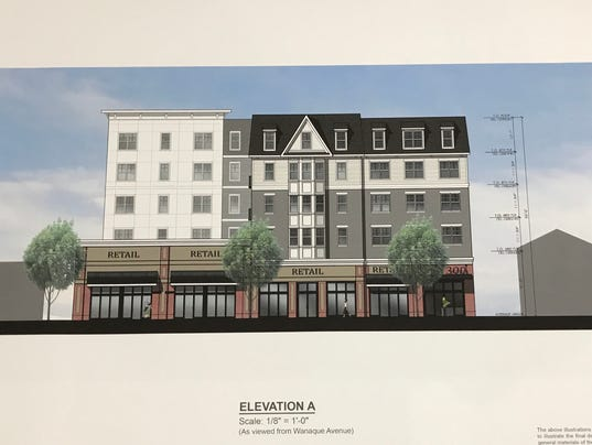 Pompton lakes luxury apartment plan redesigned for Retail apartment plans