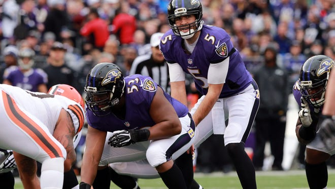 Will QB Joe Flacco lead the Ravens to their second Super Bowl in three years?