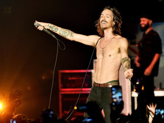 Brandon Boyd will perform with Incubus on July 26 at the Farm Bureau Insurance Lawn at White River State Park.
