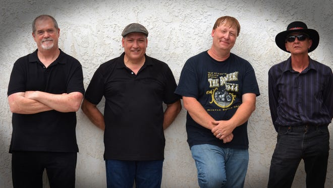 The David Cody Band, with Cody second from left, will play at White Horse Black Mountain June 30.
