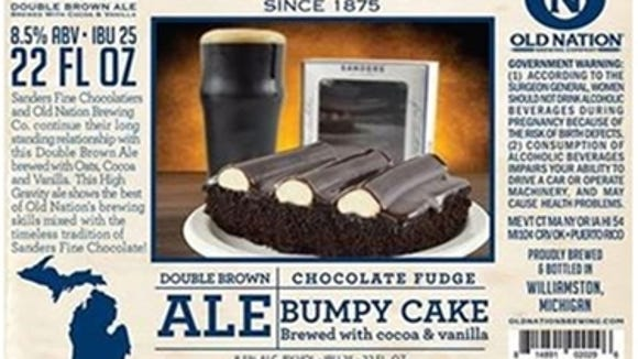 Old Nation Brewing Company in partnership with Sanders and Morley Candy Makers, Inc. recently announced Limited Edition Sanders Bumpy Cake Ale 22-ounce bottles will be available for retail sale beginning Oct. 27, 2016.