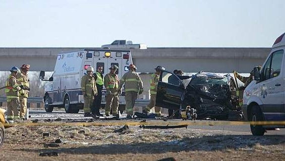 Springfield police are working a serious accident north bound on U.S. 65 near the east bound onramp to U.S. 60.