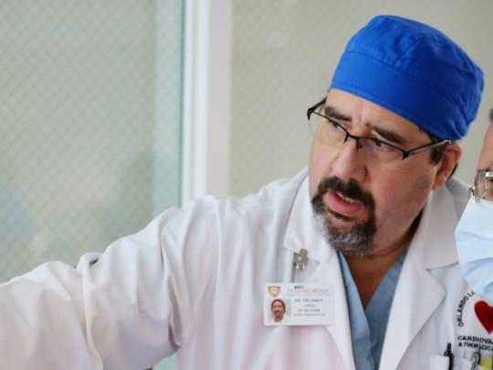 Orlando Lopez de Victoria, a cardiothoracic surgeon