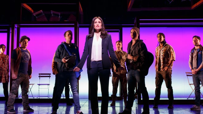 """Idina Menzel leads the cast of Broadway's """"If/Then."""""""