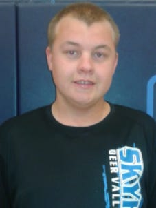 Korben Flory is a manager for the Deer Valley basketball team and recently hit a 3-pointer in a varsity game.