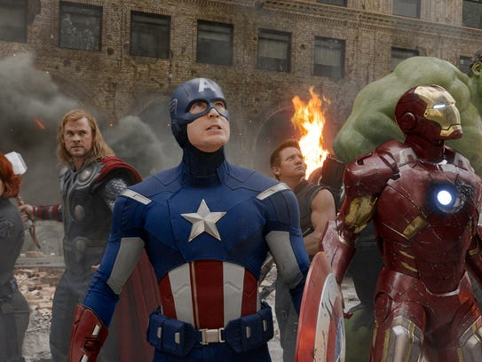 Marvel's A-list came together for 'The Avengers.'