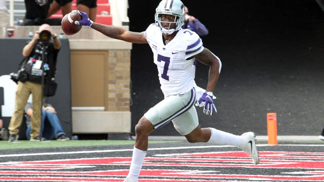 Former Kansas State wide receiver Isaiah Zuber was among the undrafted free agents cut by the Patriots.