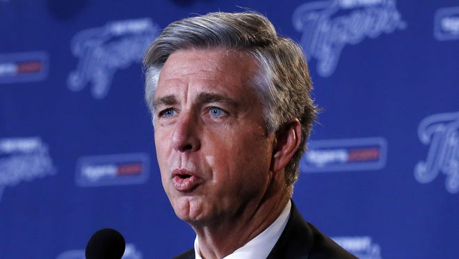 Detroit Tigers general manager Dave Dombrowski