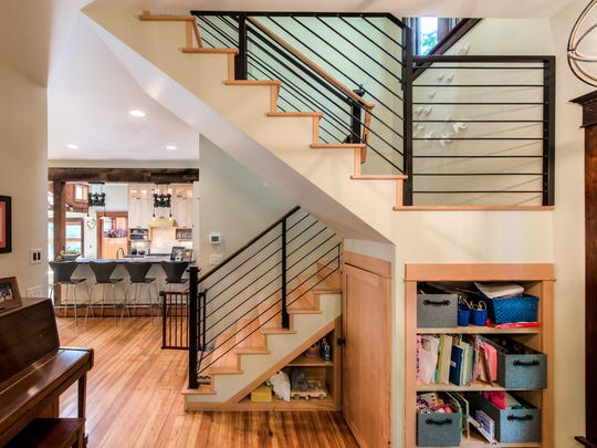 Take advantage of the nooks and crannies in your home to leave space for the high-use areas.