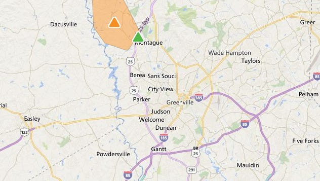 Hundreds without power Saturday morning after a car  damaged Duke Energy equipment.
