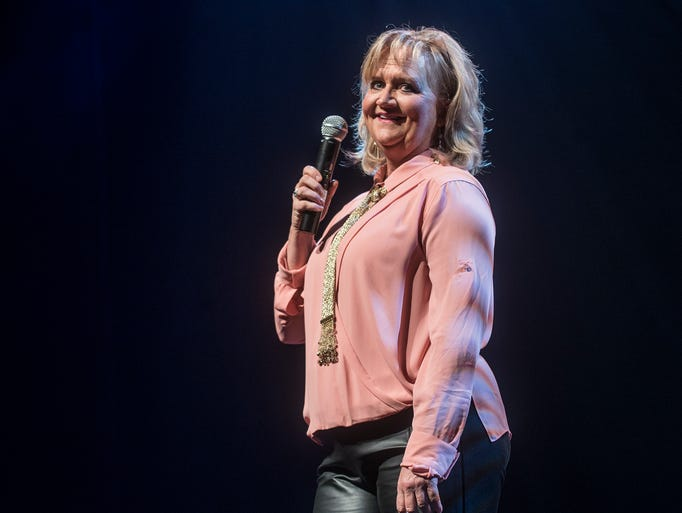 Christian comedian Chonda Pierce kicked off her new