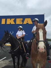 Ikea works with area police to make sure openings run smoothly.