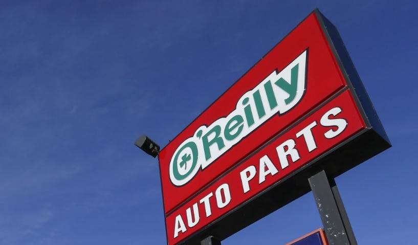 o reilly auto parts falls four spots in fortune 500 rankings rh news leader com