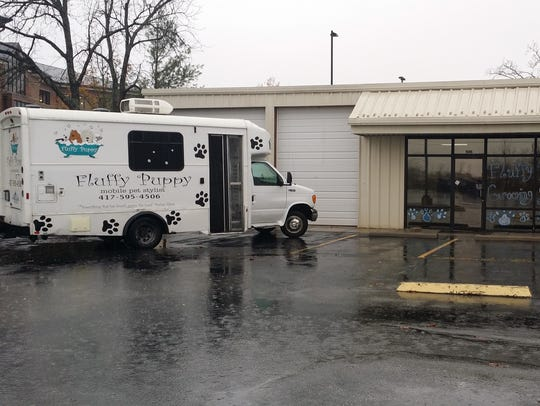 Emily Gold bought an existing mobile dog grooming business,