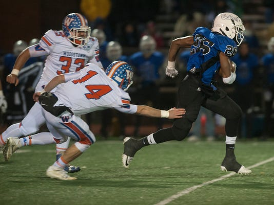 Football:  Gateway vs. Woodstown