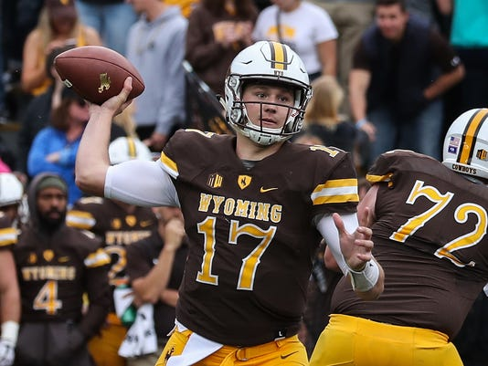 NCAA Football: Texas State at Wyoming