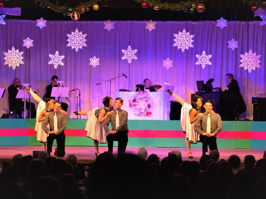 """A Playhouse Christmas Musical 2017"" will be presented at Hunterdon Hills Playhouse Dinner Theatre in Hampton through Wednesday, Dec. 20."