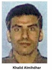 Khalid al-Midhar, a 9/11 hijacker.