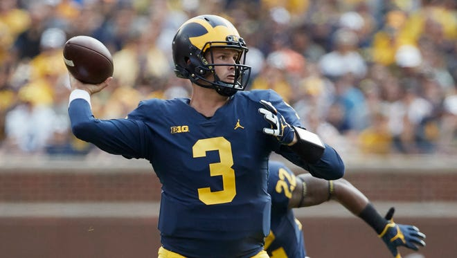 Wilton Speight is transferring from Michigan to UCLA.