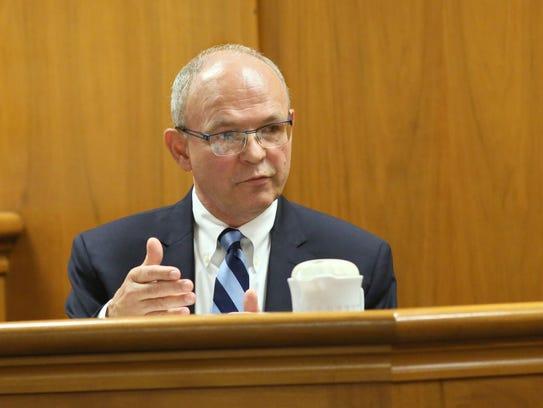 Gregory Van Rybroek, a forensic psychologist, testified
