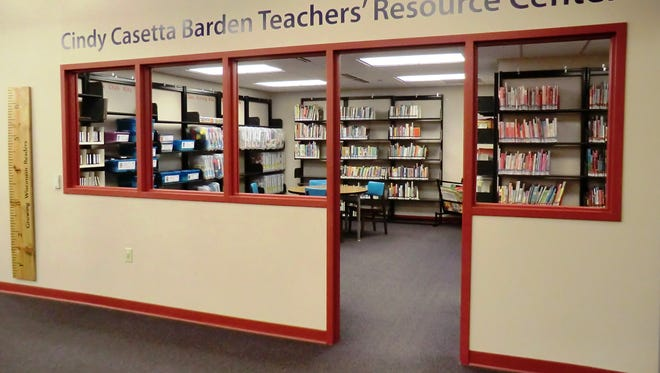The Cindy Casetta Barden Teachers' Resource Center is open to all and is located inside the Children's Room at the Fond du Lac Public Library downtown. The library will hold a grand opening in 2016 following renovations.