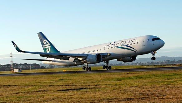 AP New Zealand Antarctic Flights