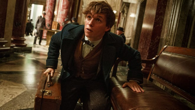 "This Warner Bros. Entertainment image shows Eddie Redmayne in a scene from, ""Fantastic Beasts and Where to Find Them."""