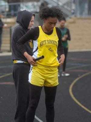 A'Jani Williams is one of North Farmington top sprinters.