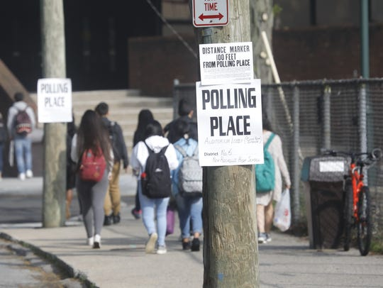 New Rochelle residents vote on the controversial school