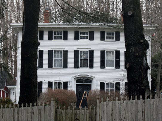 The Somers home where Eleanor Prouty was killed in