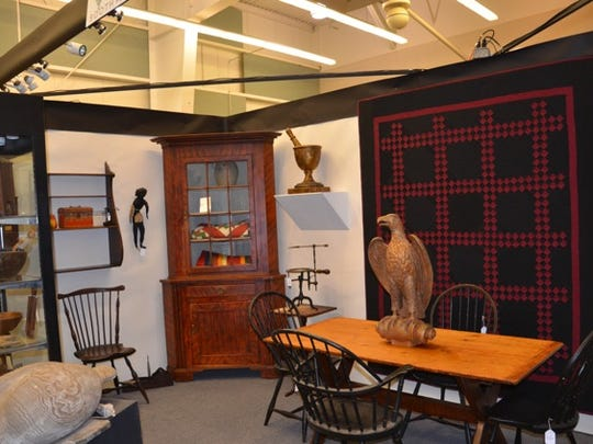 "The Greater York Antiques Show is ""a high quality antiques show,"" one dealer said."