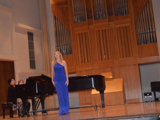 The Orpheus musical competition finale will take place at 3 p.m. Sunday.