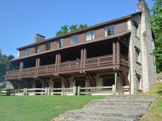 A renovation of the CCC Lodge at Roaring River State