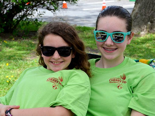 Kids kick back and enjoy the 2017 Sustainable Cherry Hill Earth Festival.