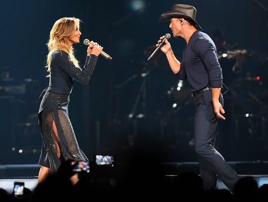 Tim McGraw and Faith Hill will perform at Talking Stick