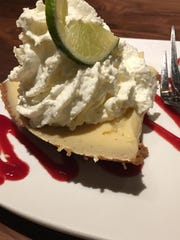 Key Lime Pie at Gibbons Fine Grill.