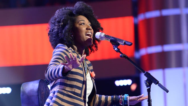 AMERICAN IDOL XIII: Majesty Rose performs in front of the judges on Tuesday, Feb. 18, on FOX.