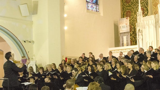The Monmouth Civic Chorus will perform Feb. 26 at First Presbyterian Church (Tower Hill), 255 Harding Road.