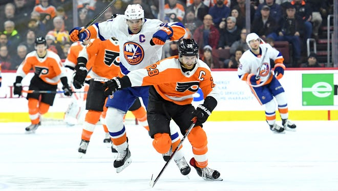 New York Islanders captain John Tavares hasn't yet re-signed and may go to free agency. Don't expect the Flyers to pony up for his next contract, though.